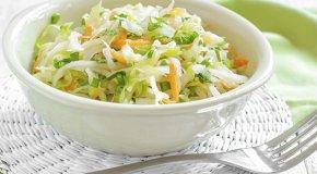 Салат из свежей капусты – 4 витаминных рецепта