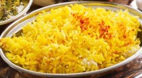 Рис с шафраном – 3 вкусных рецепта