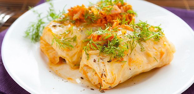 Постные голубцы: рецепты с овощами и крупами