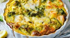 Запеканка из брокколи – 7 вкусных рецептов