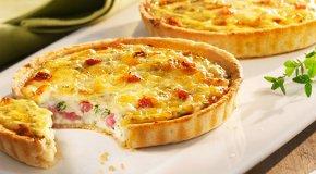 Лоранский пирог – тесто, заливка и 4 рецепта