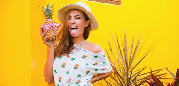 Что делать, если от ананаса щиплет язык