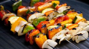 Овощи на мангале: рецепты овощей-гриль
