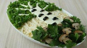 Салат Березка – 4 простых и вкусных рецепта