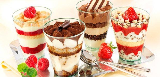 Десерты в стаканчиках – вкусные и простые рецепты