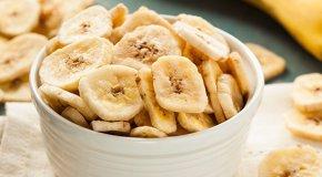 Сушеные бананы – польза, вред и калорийность