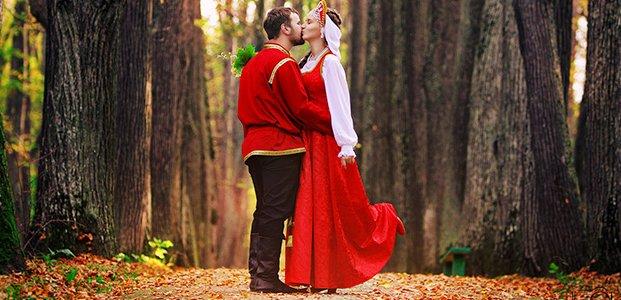 Свадьба в русском народном стиле – идеи и советы