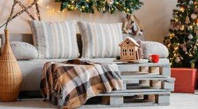 11 идей украшения комнаты на Новый год