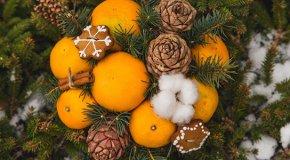Букет из мандаринов – 3 способа сделать подарок своими руками