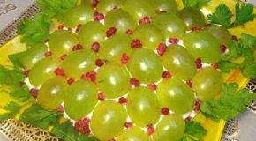 Салат Тиффани с виноградом – 4 рецепта