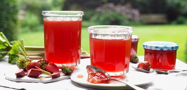 Кисель из ревеня – рецепты для жаркого лета