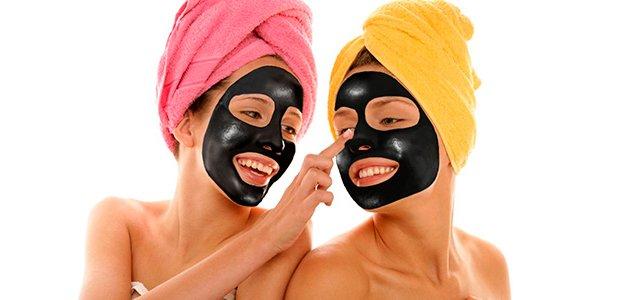 Черная маска от черных точек – 6 рецептов и применение
