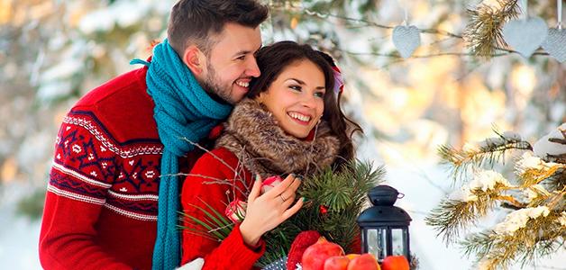 Куда пойти на свидание зимой