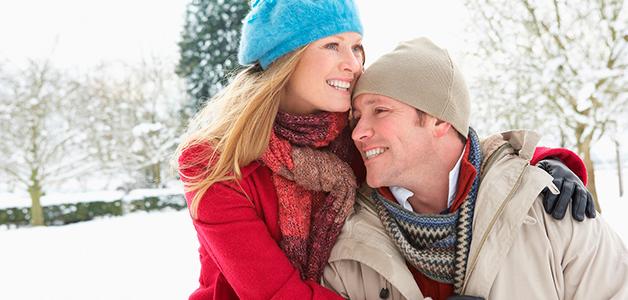 Свидание с девушкой зимой
