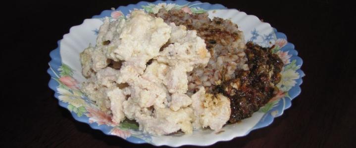 Филе индейки в сливочно-сырном соусе