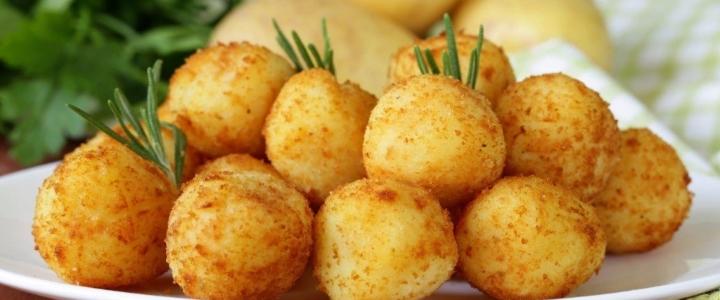 Картофельные крокеты классические