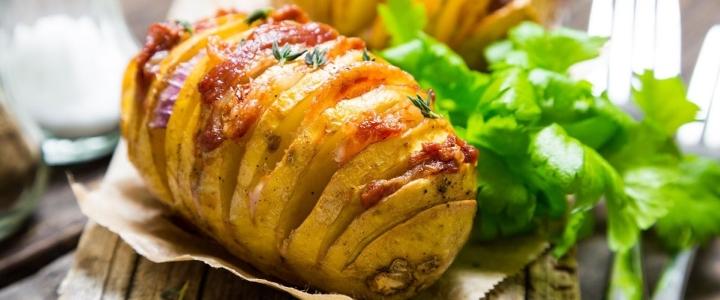 Картошка-гармошка сытная