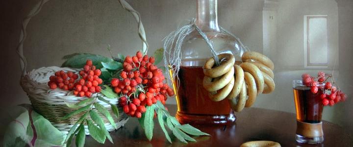Десертное вино из рябины