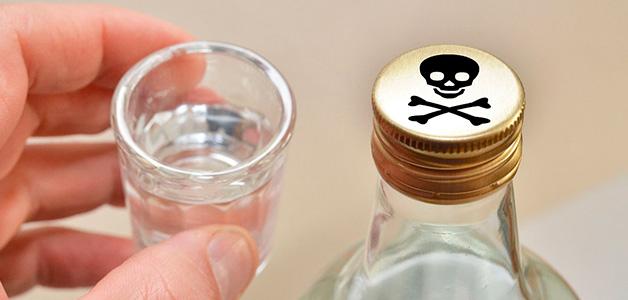 Отравление алкоголем - симптомы и первая помощь