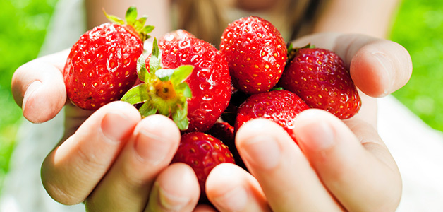 Ешьте клубнику - избавитесь от аллергии