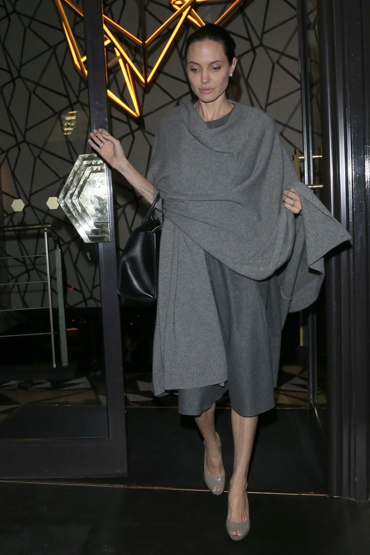 Анджелина Джоли сильно похудела