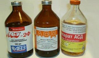Асд фракция – польза, вред и применение лекарства