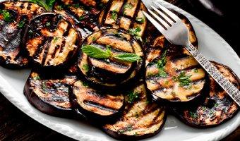 Баклажаны на мангале – рецепты для компании