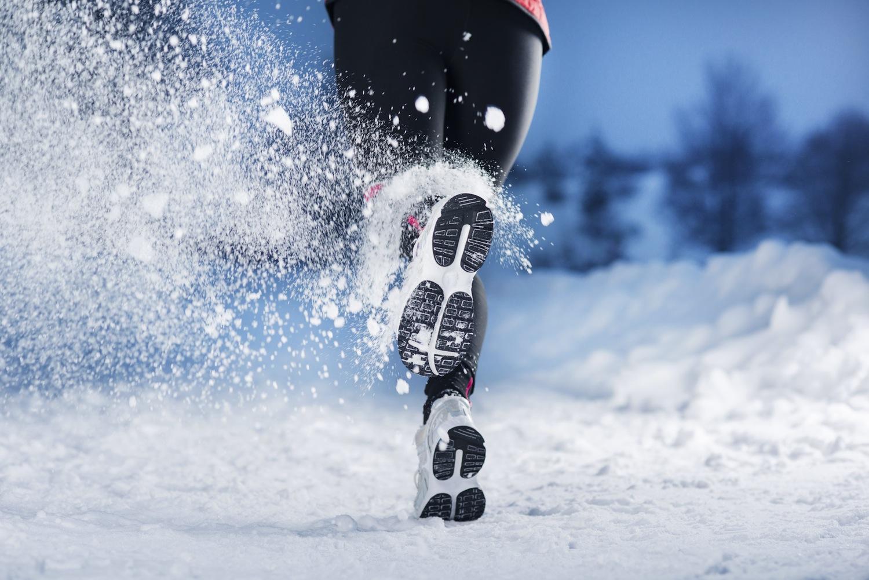 Бег зимой польза и вред