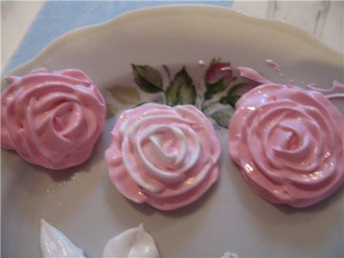 Как в домашних условиях сделать цветы из крема на торт
