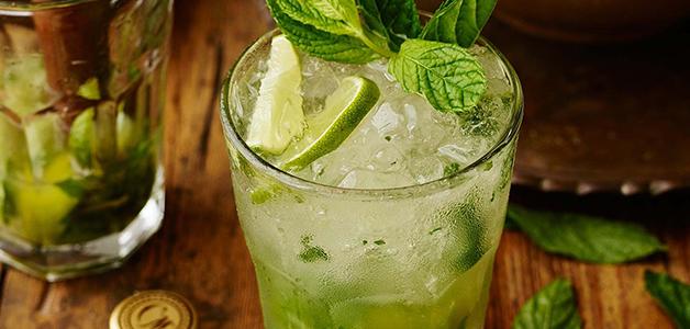 Клубничный мохито безалкогольный