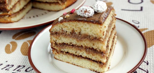 Бисквитный очень вкусный и простой рецепт