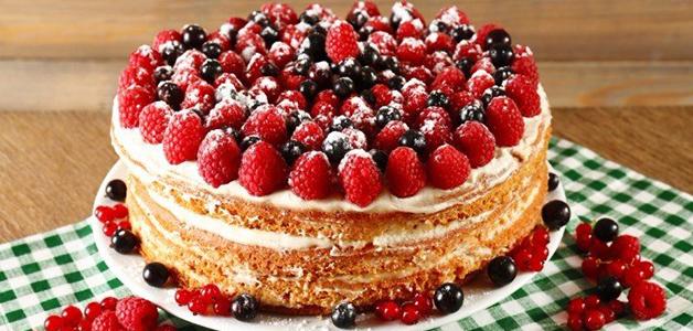 Простой и вкусный крем для бисквитного торта