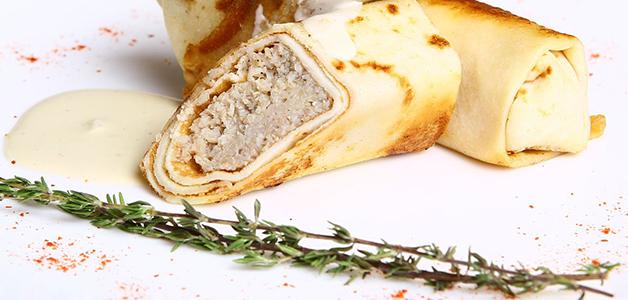 Блины с курицей - рецепты вкусных блинчиков