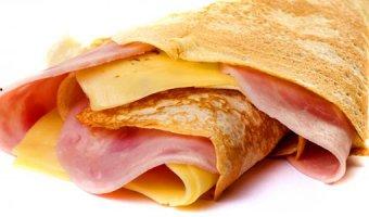Блины с сыром – рецепты вкусных блинчиков