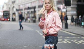 Бомбер: с чем носить женскую куртку