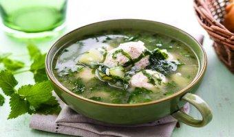Борщ с крапивой – рецепты супа для здоровья