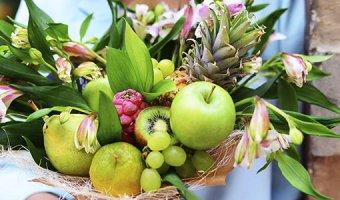 Букет из фруктов своими руками – 4 мастер-класса