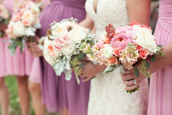 Цветы в стиле шебби шик