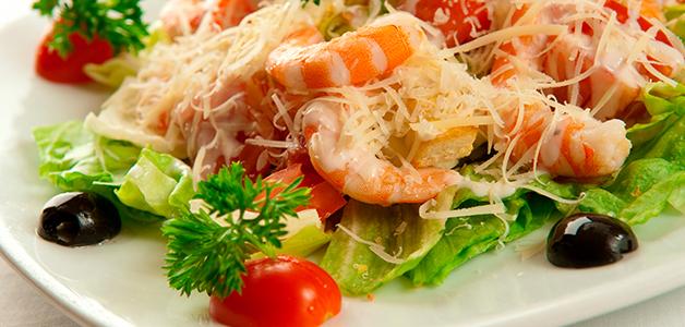 Салат с креветками рецепты с