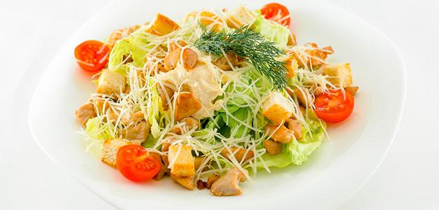 """Салат """"Цезарь """" с пекинской капустой - пошаговый рецепт с фото на Повар. ру"""