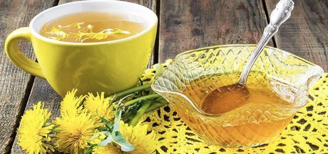 сделать чай из одуванчиков