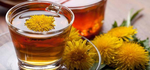 заварить чай из одуванчиков