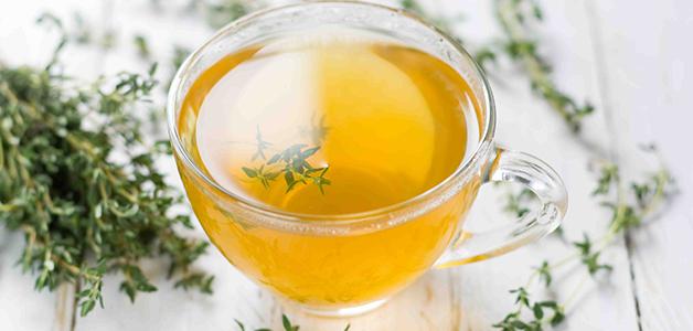 Чай с чабрецом и мелиссой
