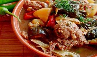Чанахи – рецепты в горшочках и в казане