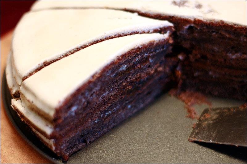 рецепт торта в тесто которого входит сгущенка