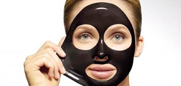 Домашняя черная маска