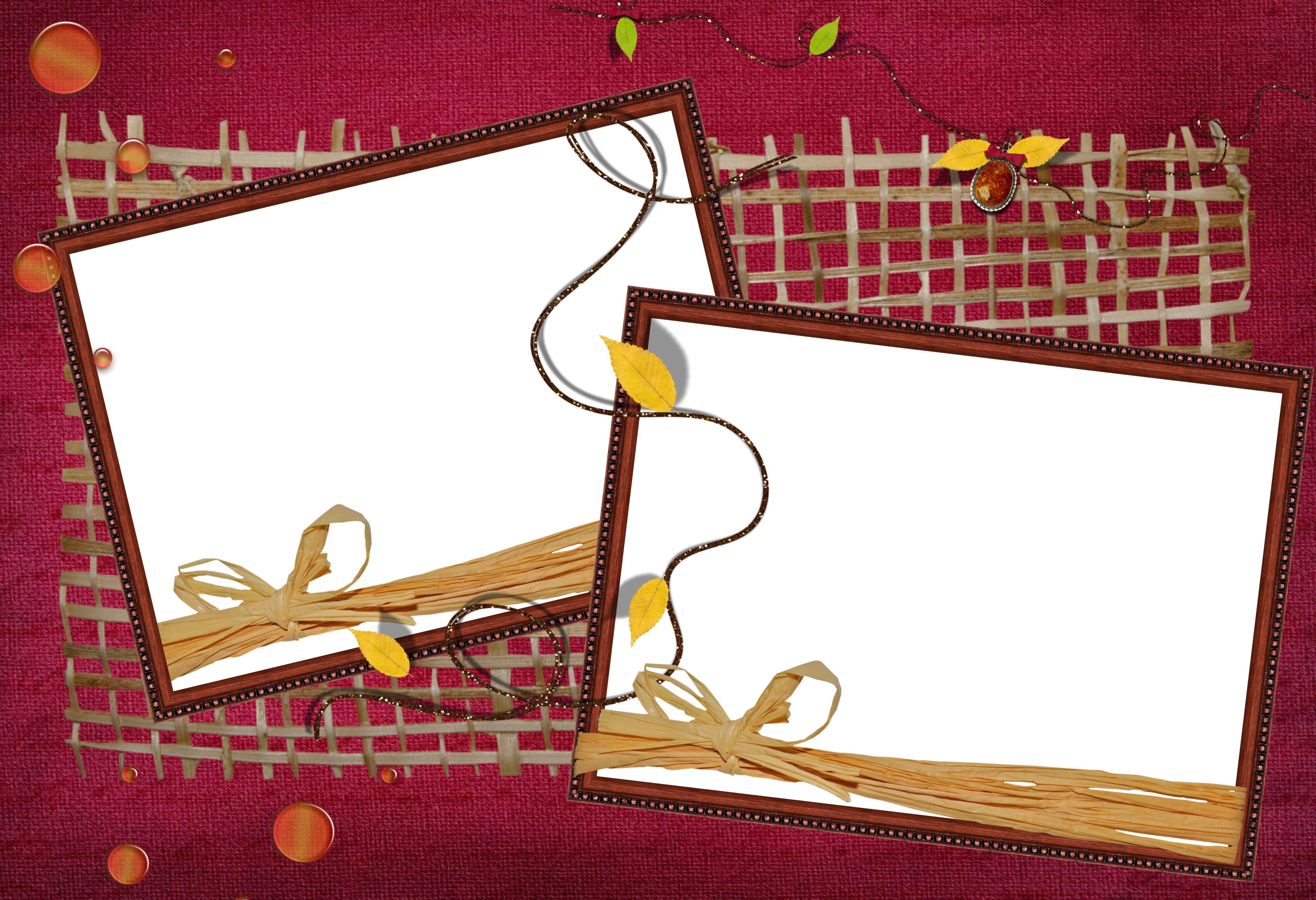 Как сделать на одном листе две рамки