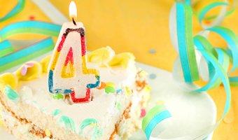 Что подарить ребенку на 4 года: оригинальные подарки