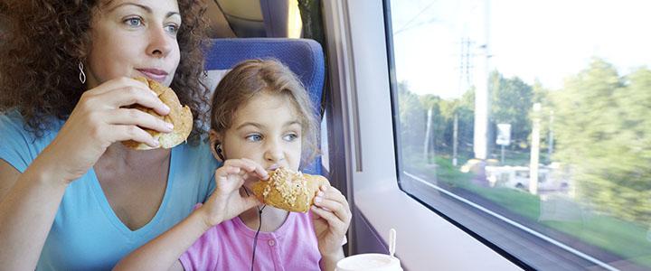 Что взять в поезд из еды
