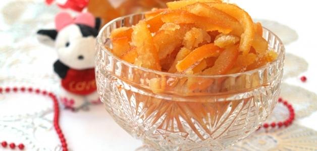 цукаты из мандариновых корок в домашних условиях